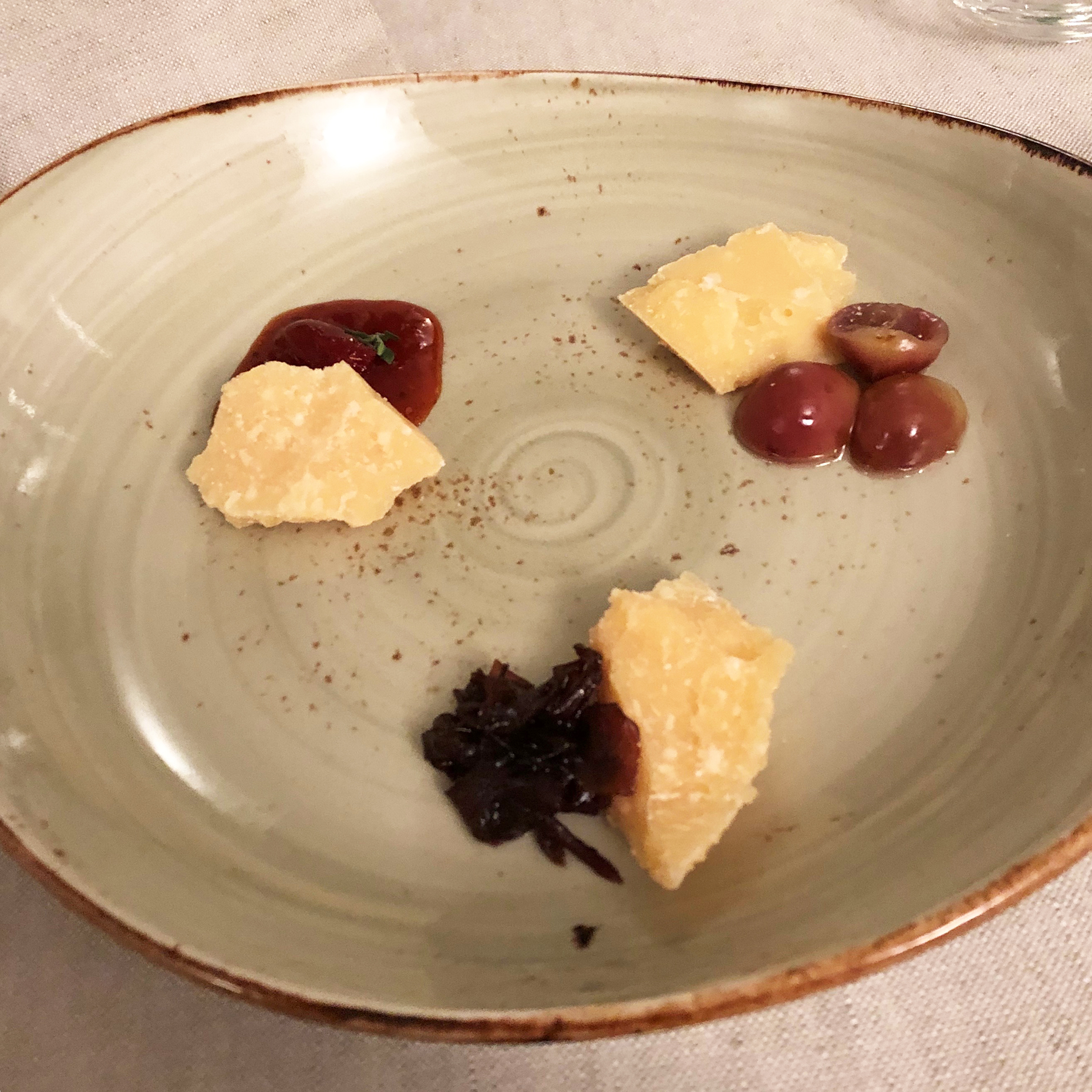 three ages of parmesan