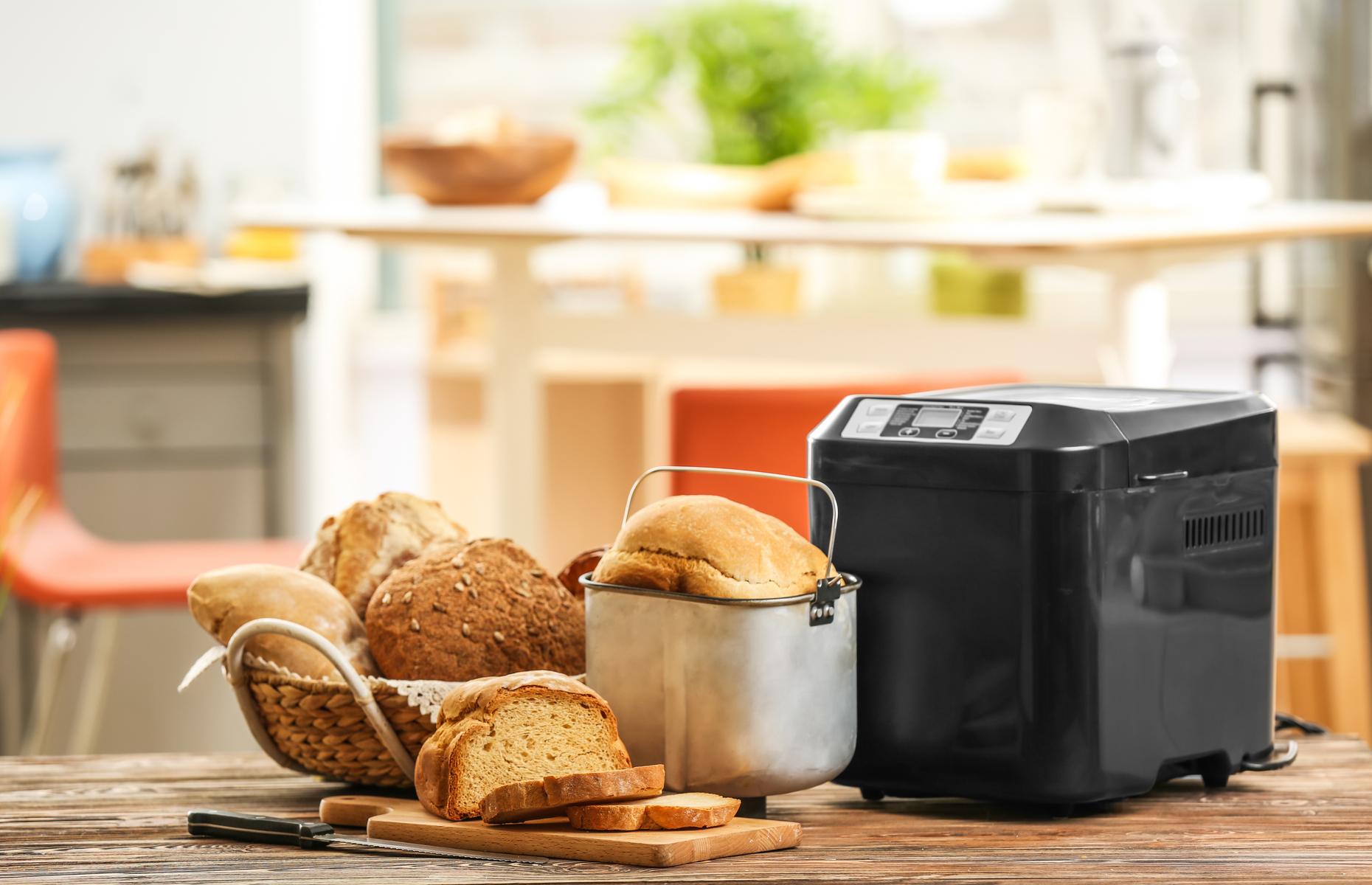 Bread-making machine (Image: Africa Studio/Shutterstock)