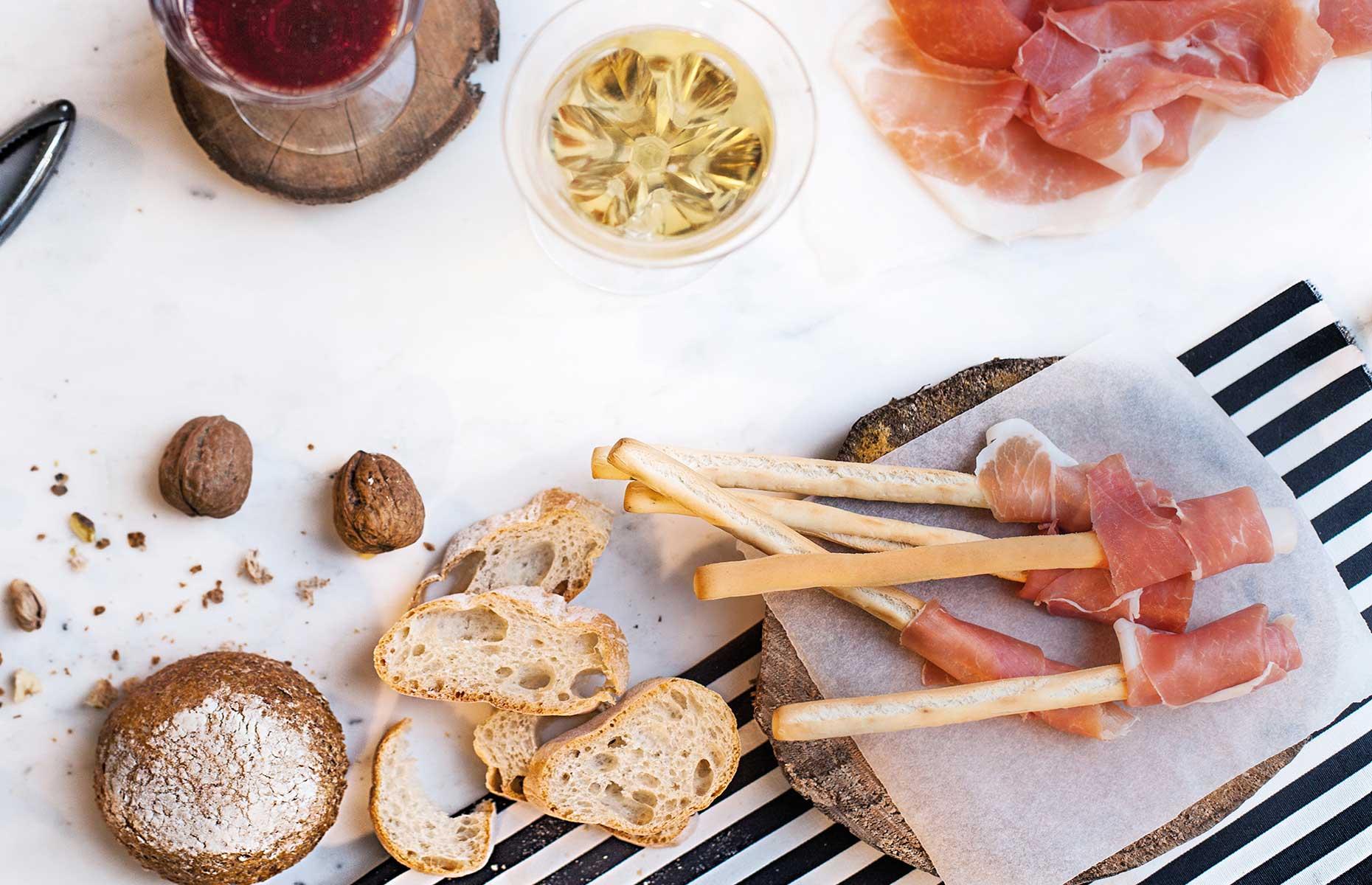Parma Ham antipasti (Image courtesy of Consorzio del Prosciutto di Parma)