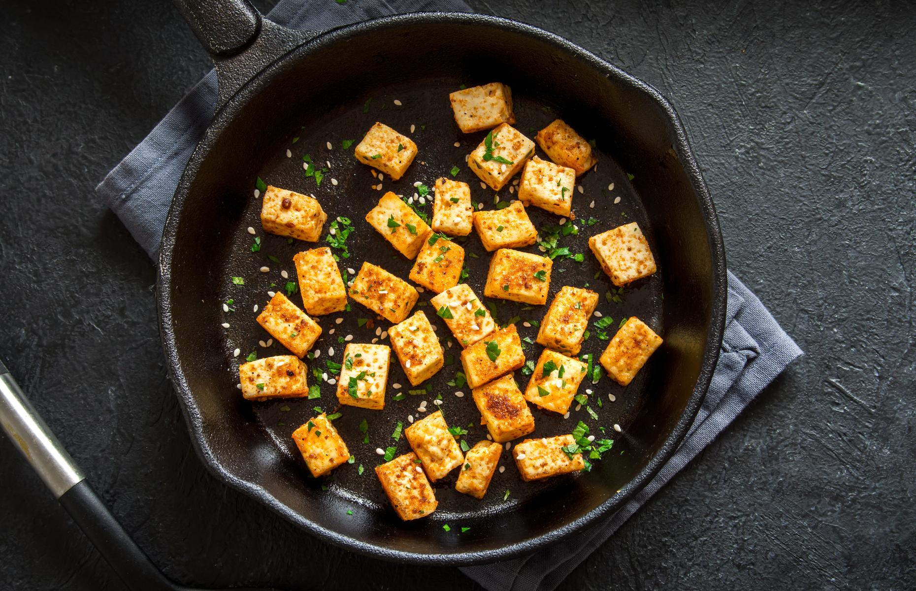 Stir-fried tofu (Image: Oksana Mizina/Shutterstock)