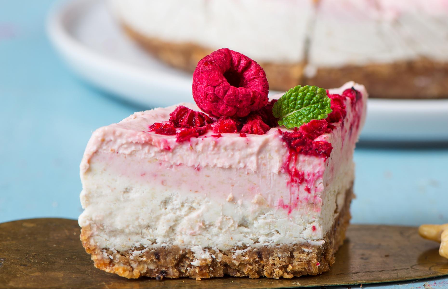 Tofu cheesecake (Image: Lanav/Shutterstock)