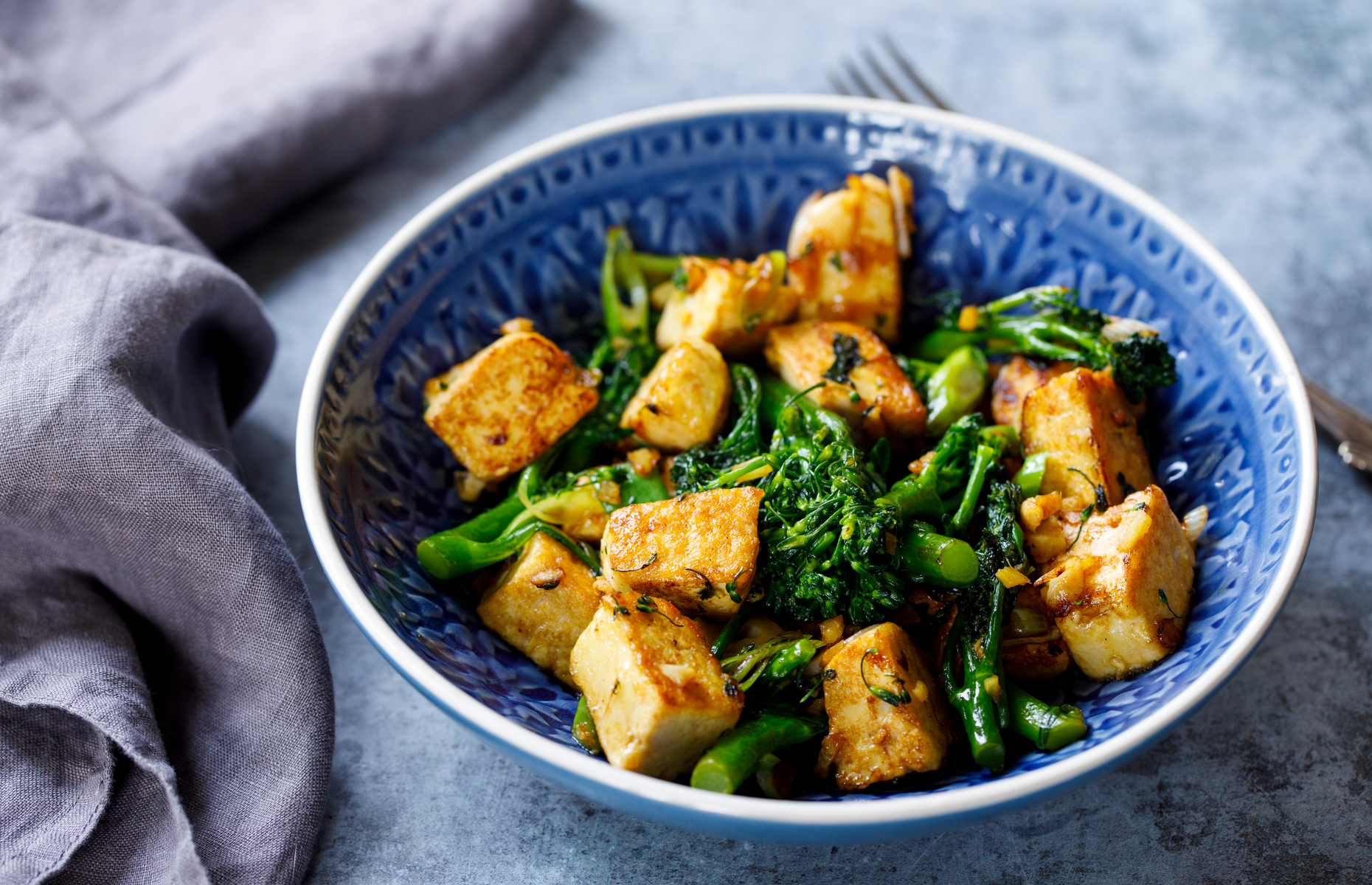 Tofu salad (Image: Magdanatka/Shutterstock)