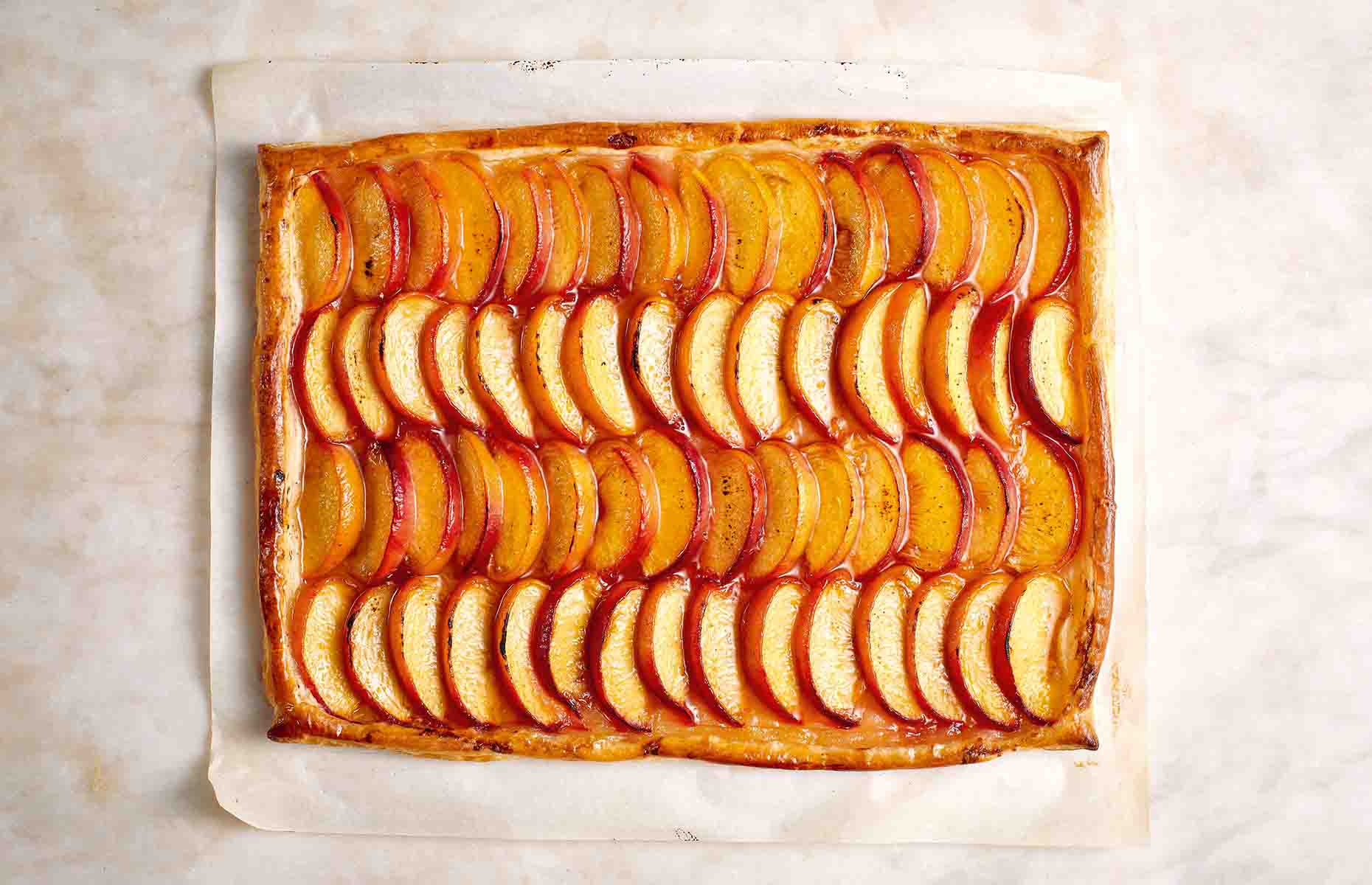 Peach puff tart (Image: The Ice Kitchen/HarperCollins)
