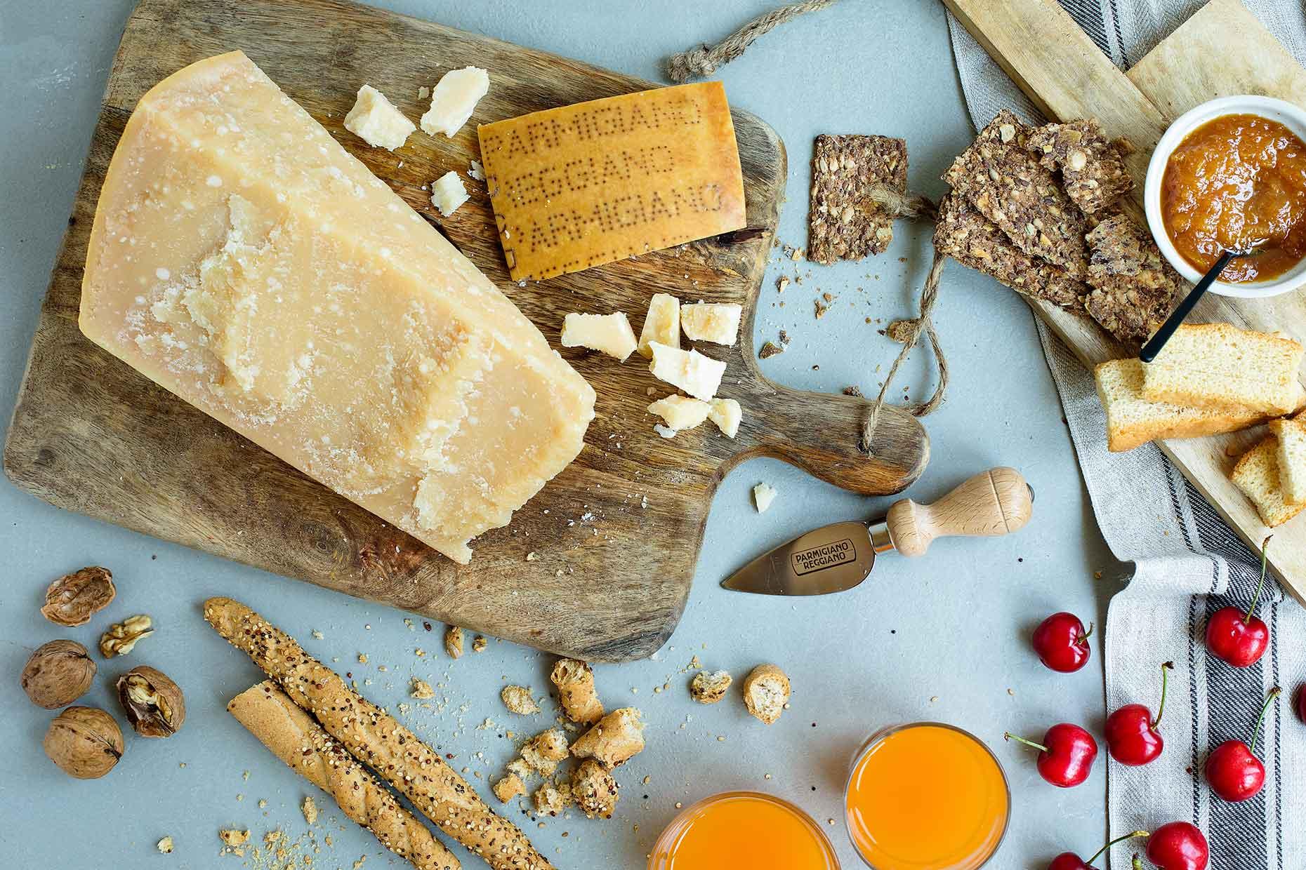 Mature Parmigiano Reggiano (Image: Courtesy of Consortium of Parmigiano Reggiano)