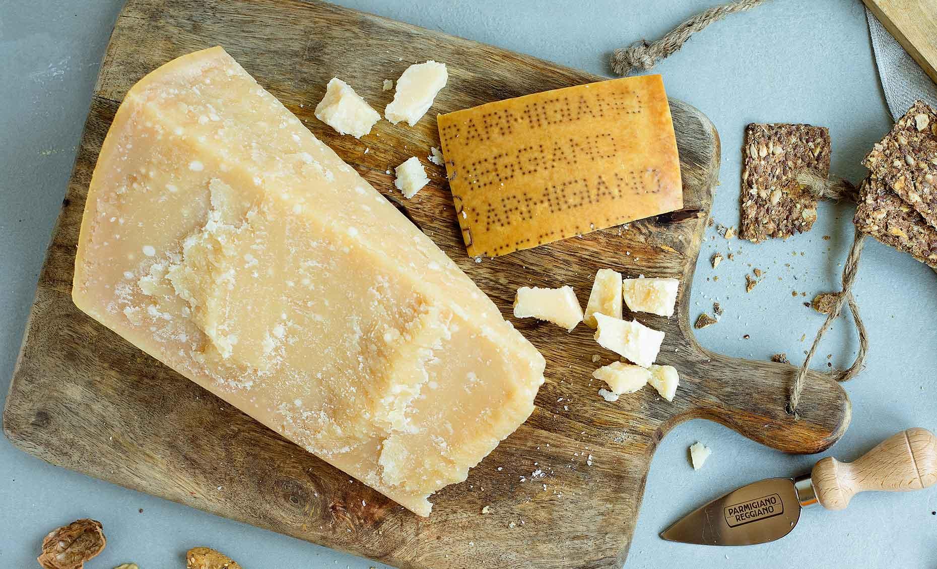 Mature Parmesan (Image: Courtesy of Consortium of Parmigiano Reggiano)