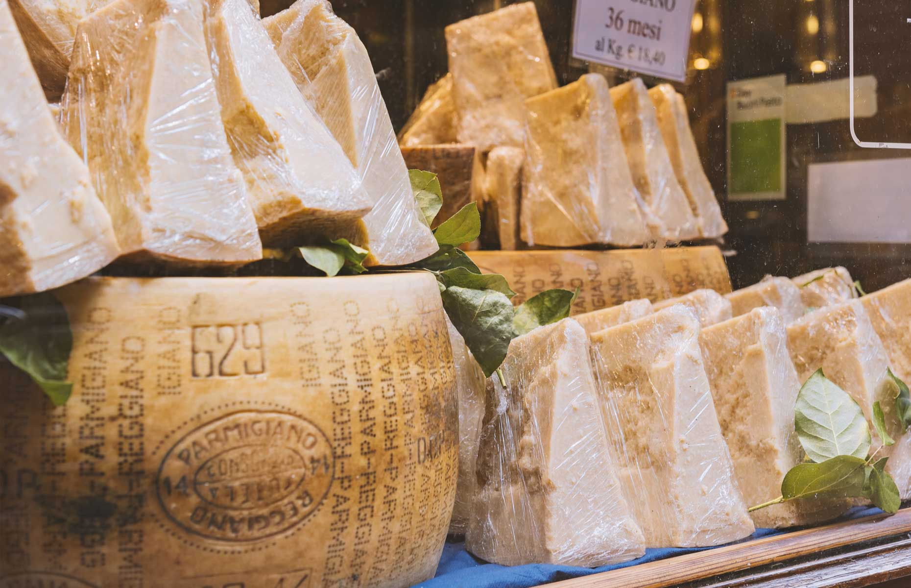 Wrapped Parmesan (Image: Sophie McAulay/Shutterstock)