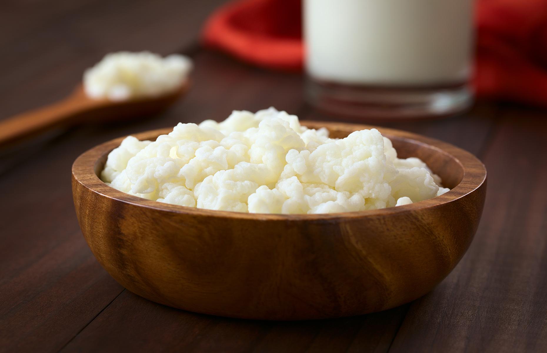 Bowl of kefir grains (Image: Ildi Papp/Shutterstock)