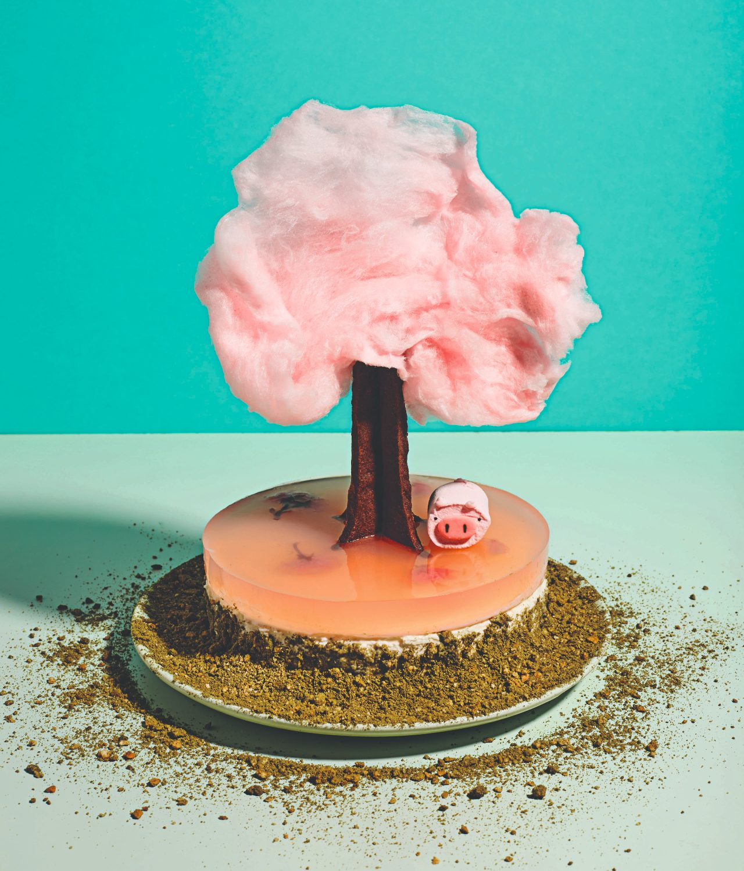 Cherry blossom cake. Image: Ellis Parrinder