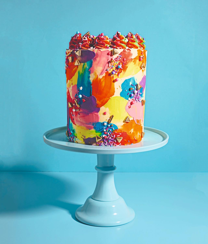 Holi cake. Image: Ellis Parrinder
