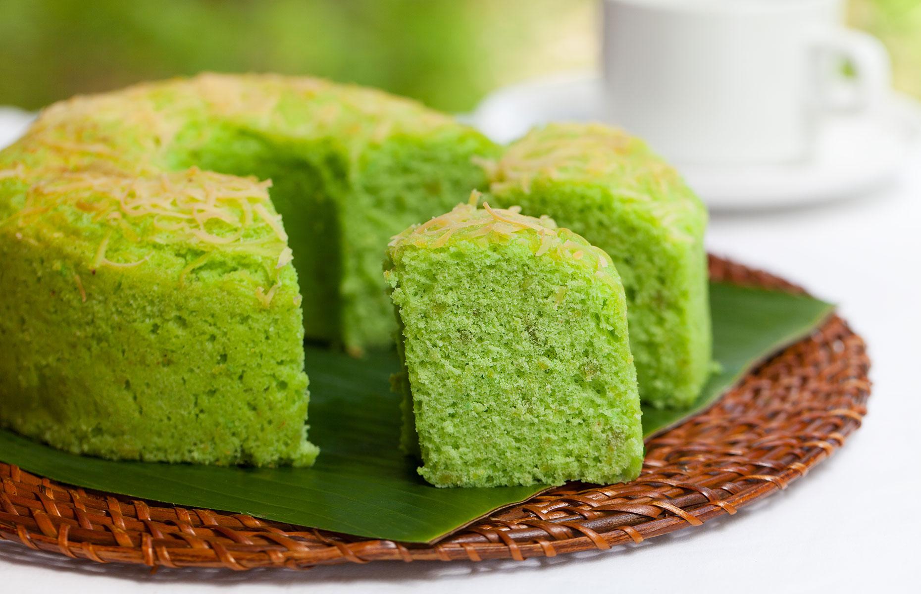 Pandan cake (Image: Anna_Pustynnikova/Shutterstock)