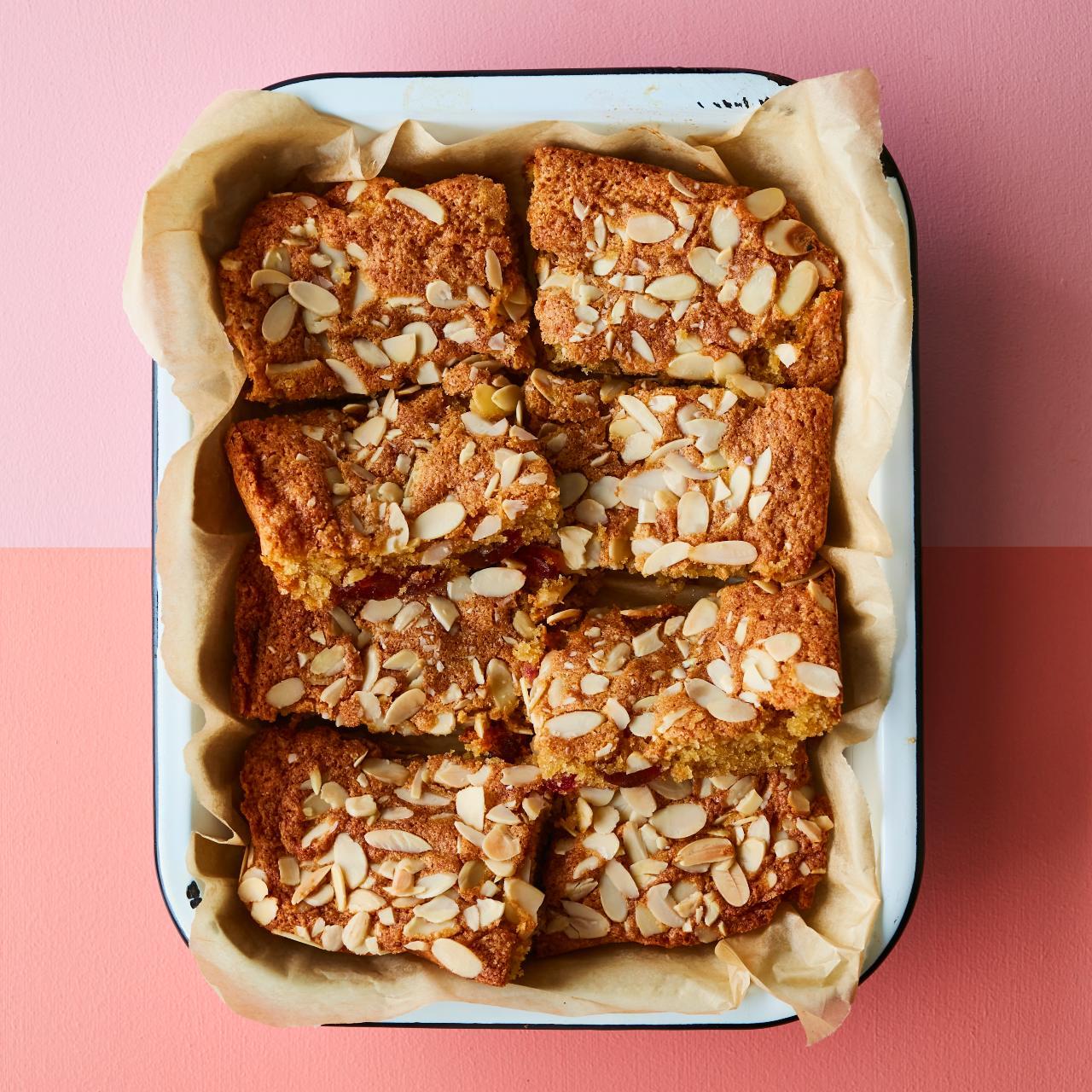 Cherry and almond cake (Image: David Loftus)