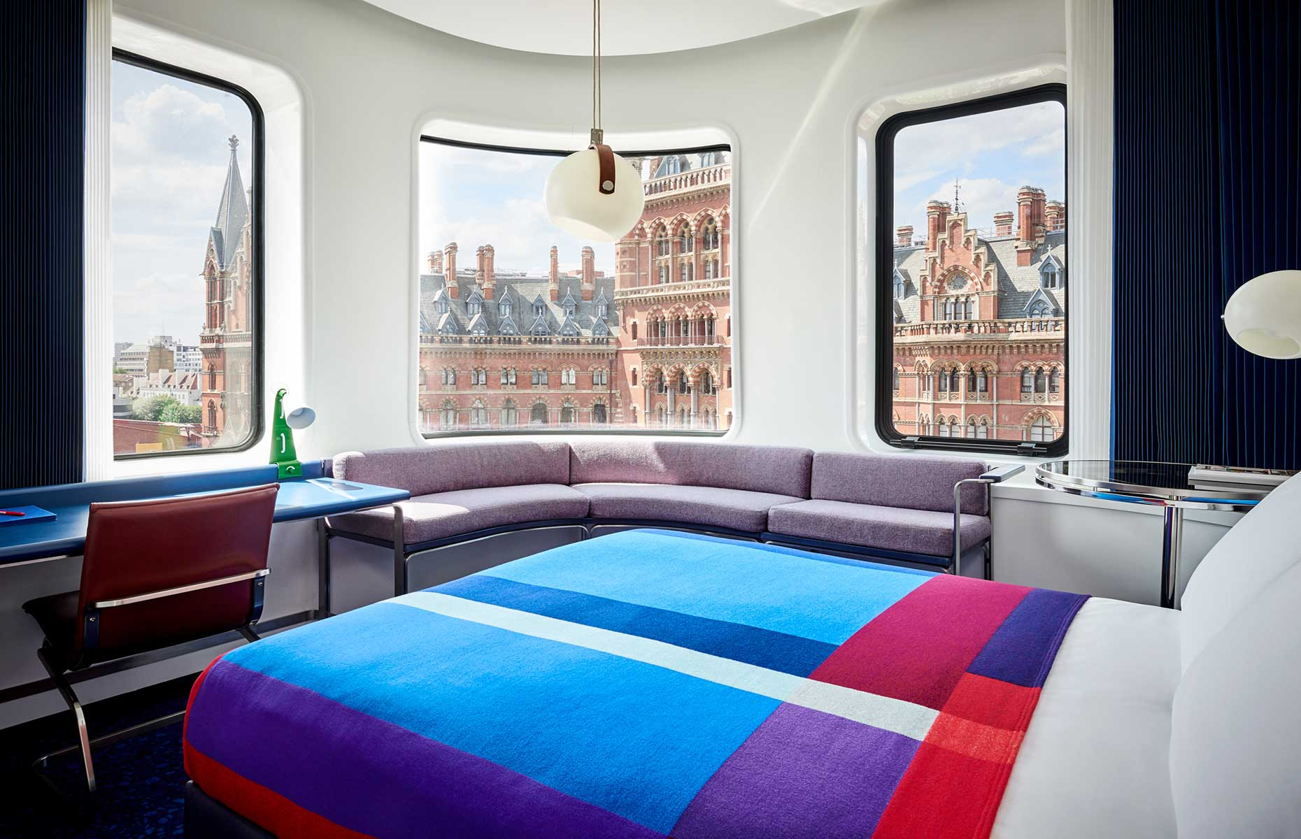 Double room at The Standard (Image: David Cleveland/The Standard)