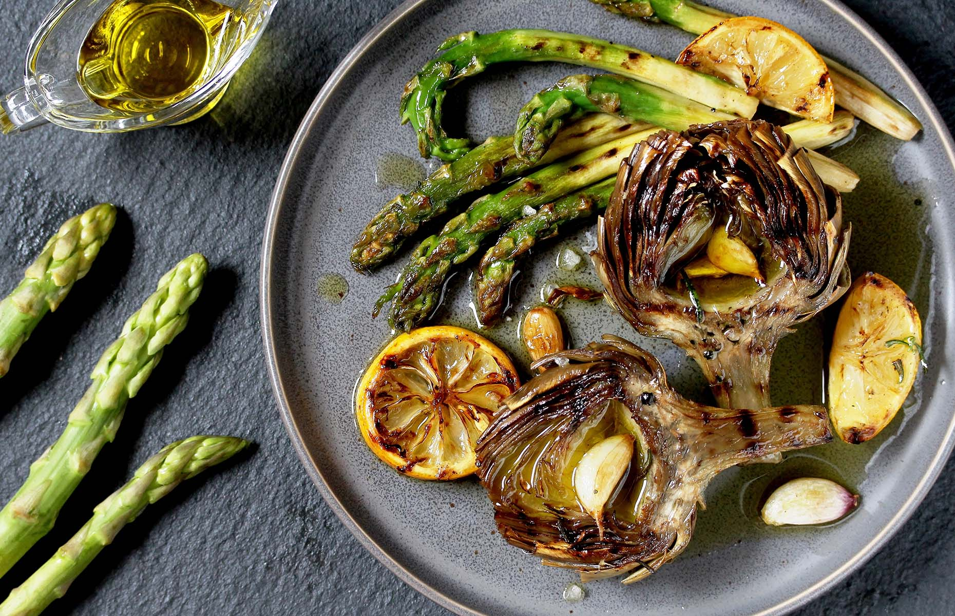 How to cook artichokes: grilled artichokes