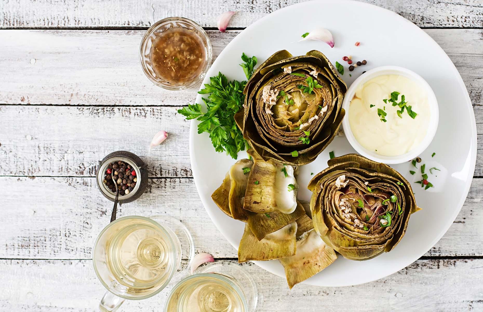 How to cook artichokes: whole artichoke