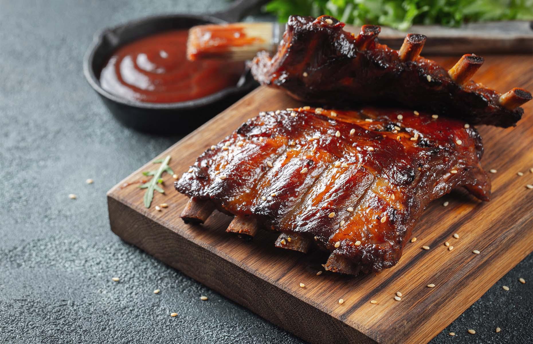 Barbecue ribs (Image: VasiliyBudarin/Shutterstock)