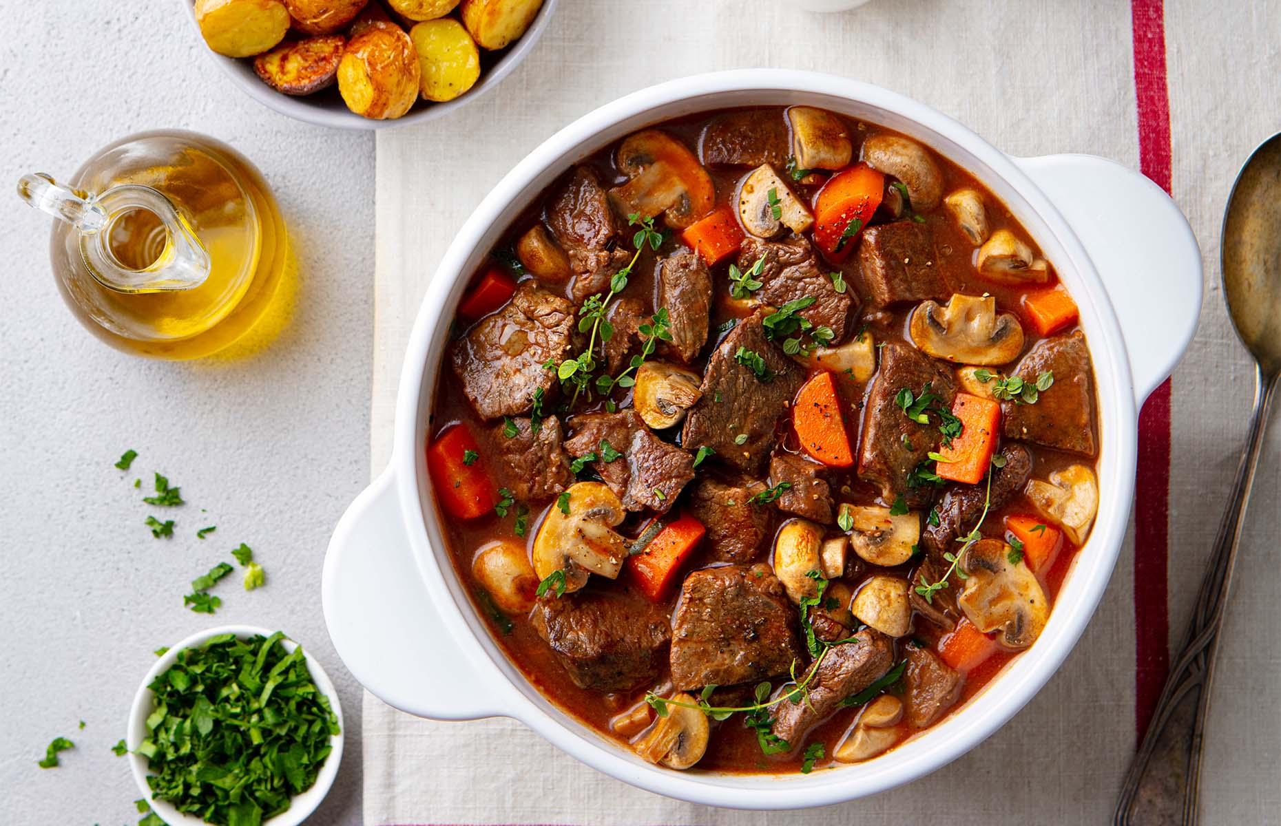 Beef-bourguignon (Image: Anna_Pustynnikova/Shutterstock)
