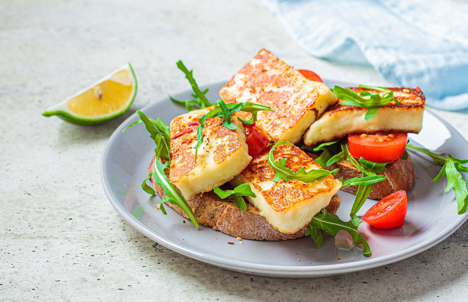 Freshly fried halloumi (Image: Nina Firsova/Shutterstock)