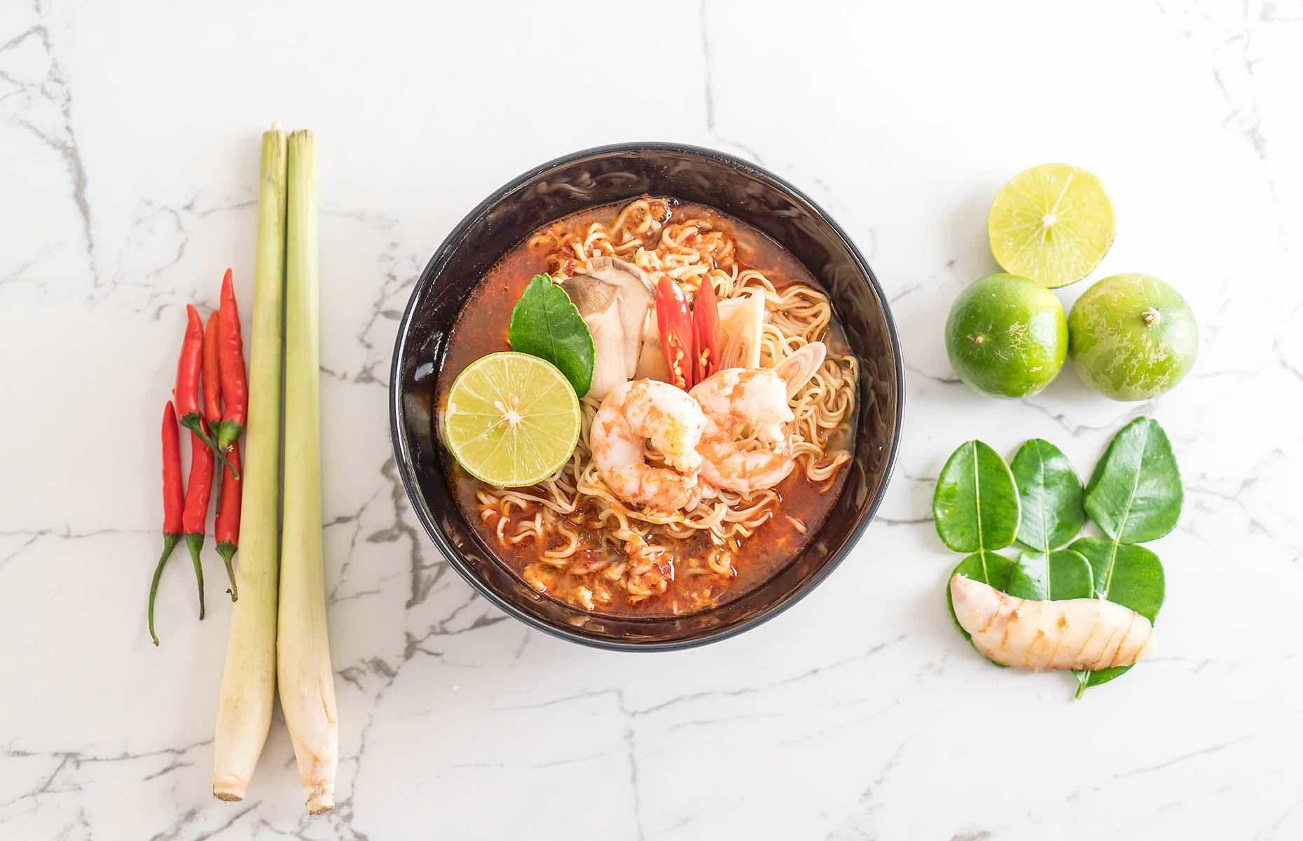 Lemongrass Thai soup recipe (Image: gowithstock/Shutterstock)
