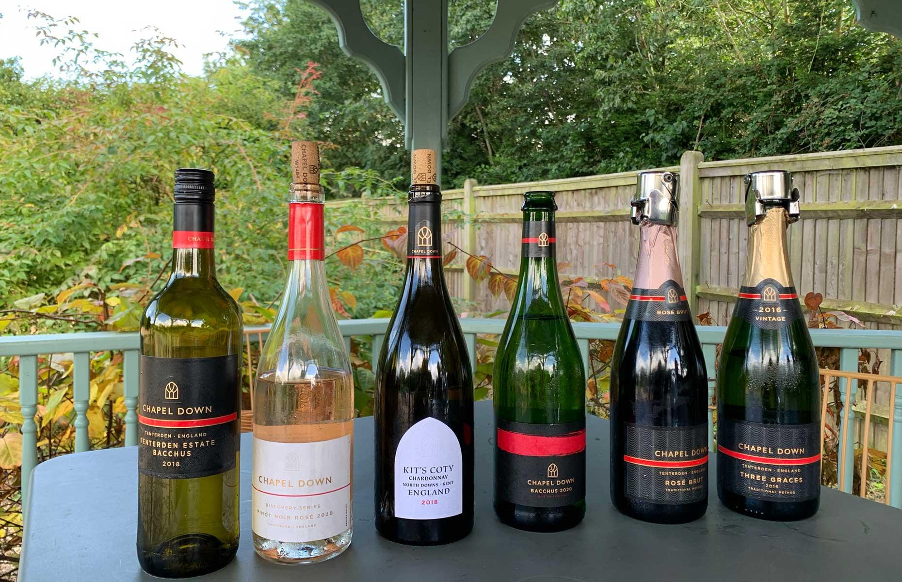 Chapel Down wine tasting (Image: Laura Jackson/loveFOOD)
