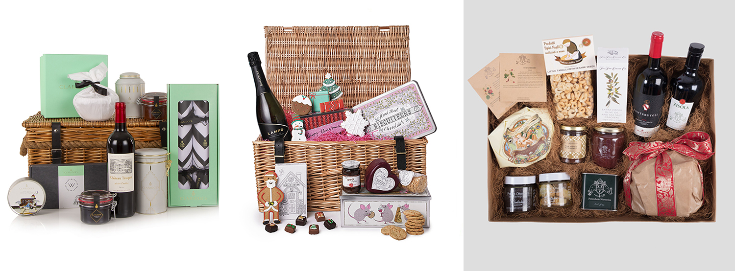 Best Christmas hampers over £100