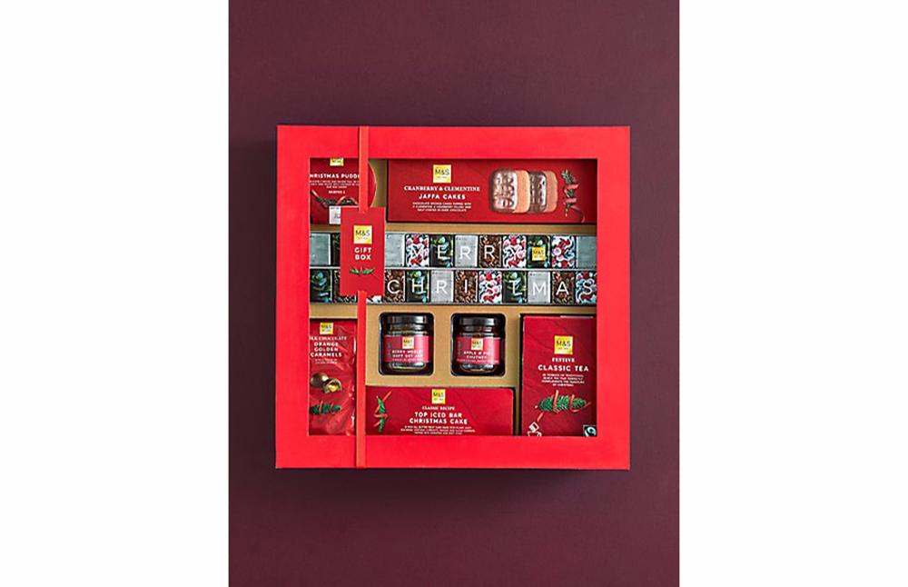 M&S Classic Christmas gift box
