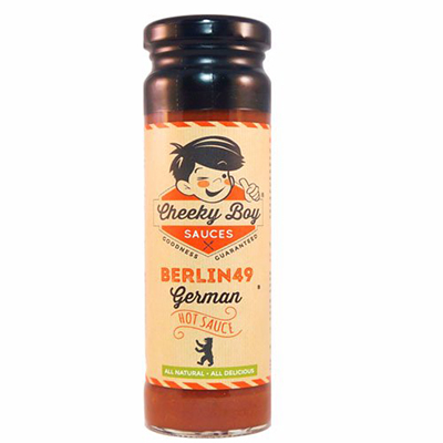 Cheeky Boy Berlin49 hot sauce