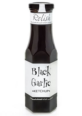 The Hawkshead Relish black garlic ketchup