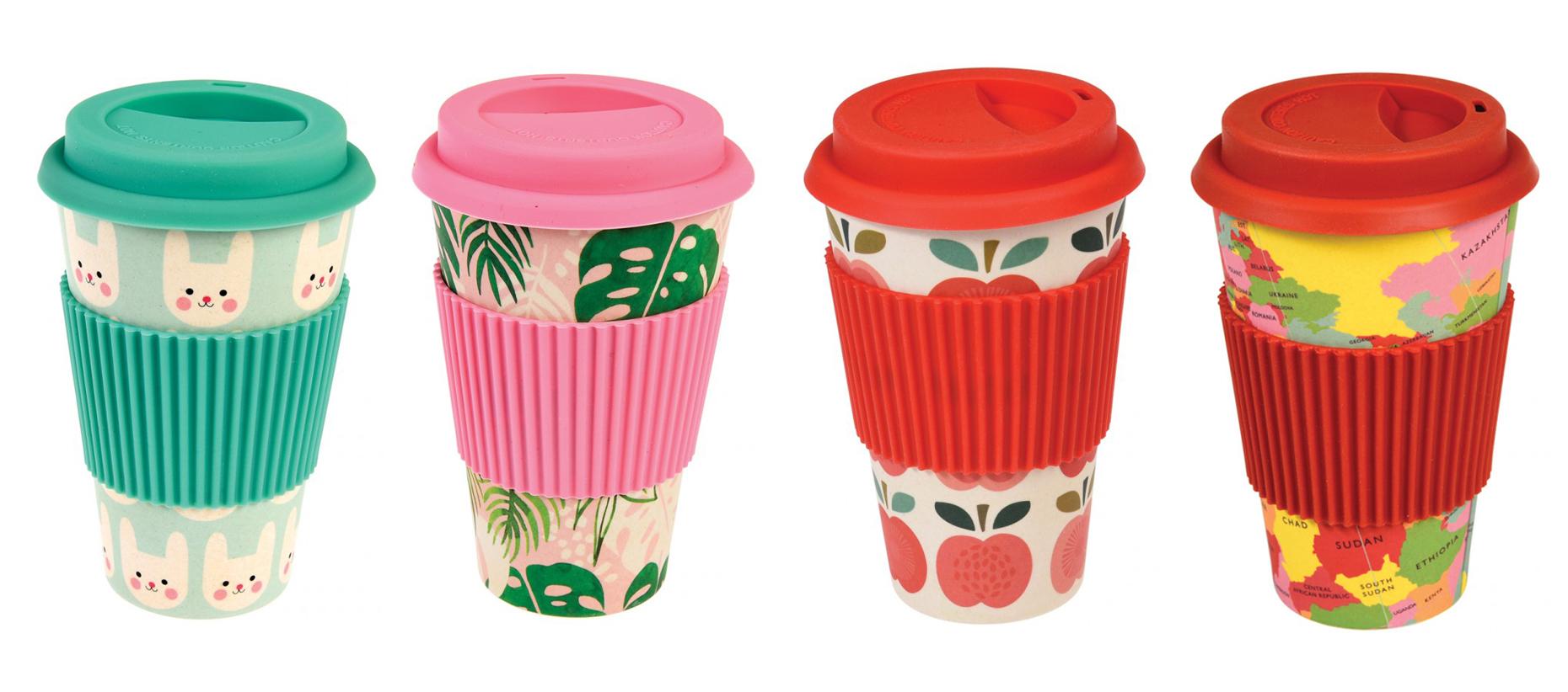 Rex London bamboo travel mug