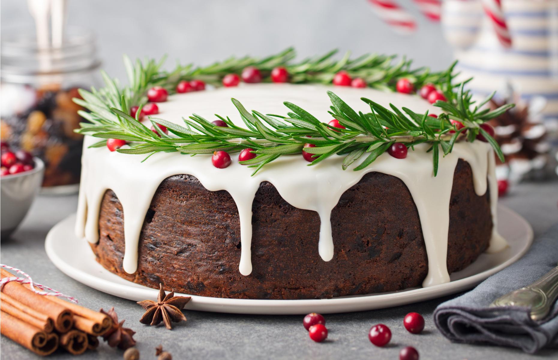 Christmas cake tips