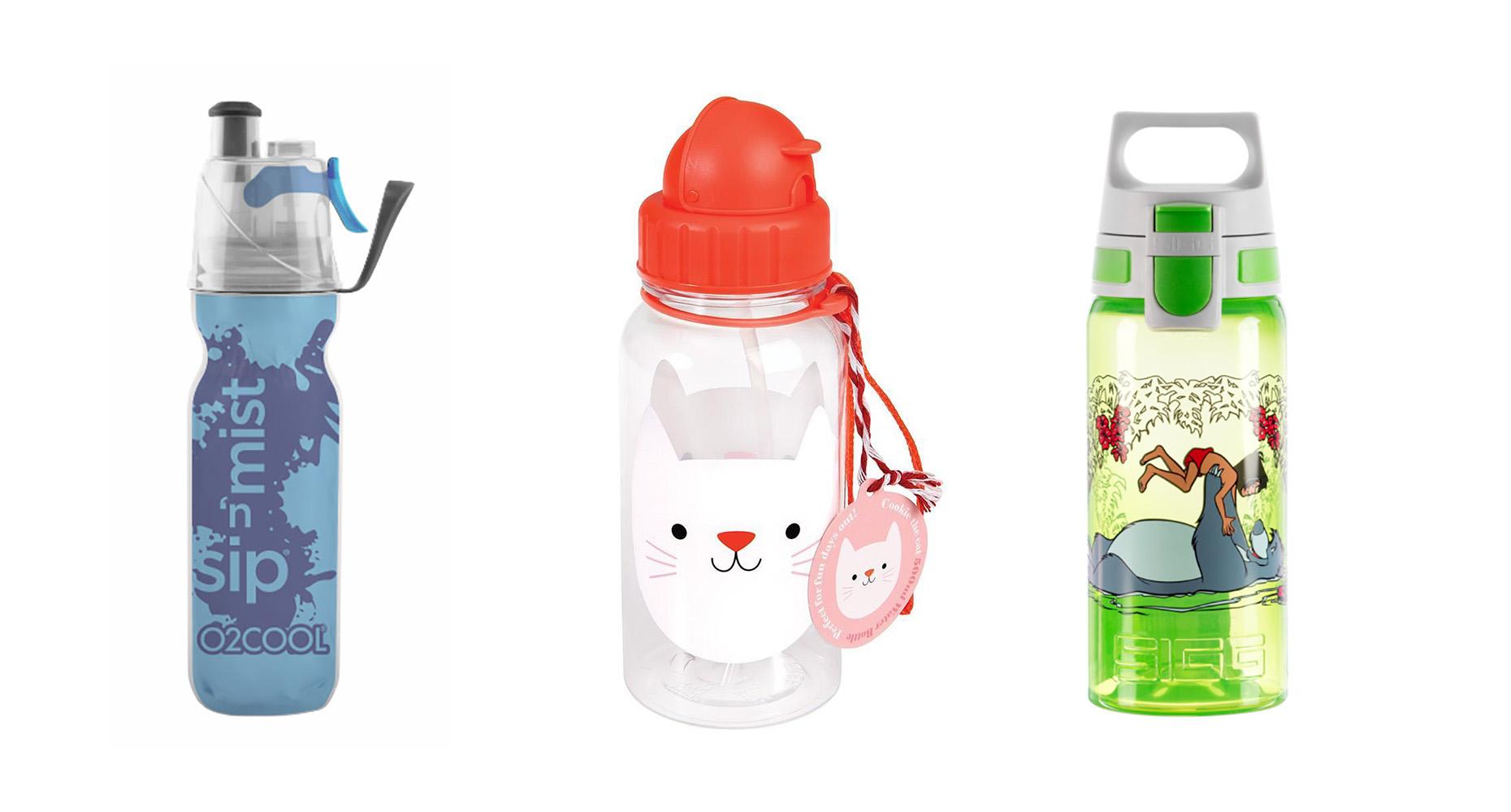 Fun water bottles to keep kids hydrated