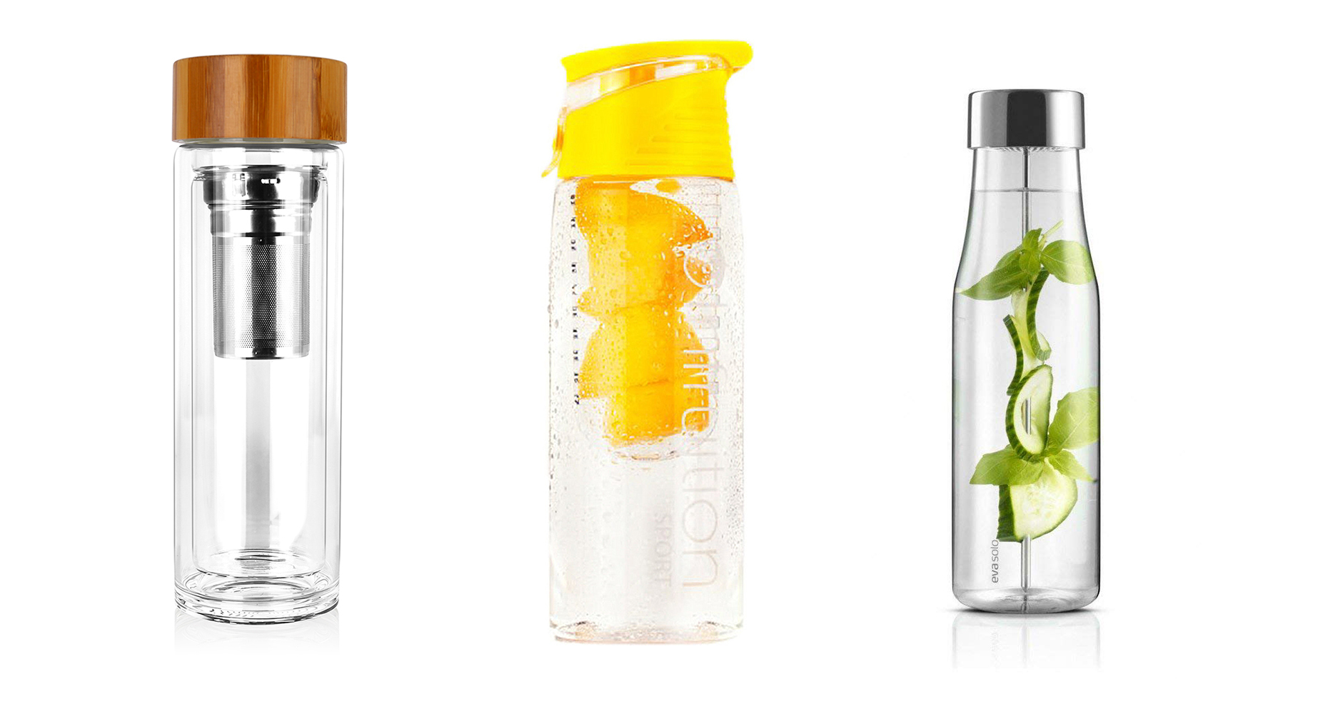 Infusion bottles for flavour