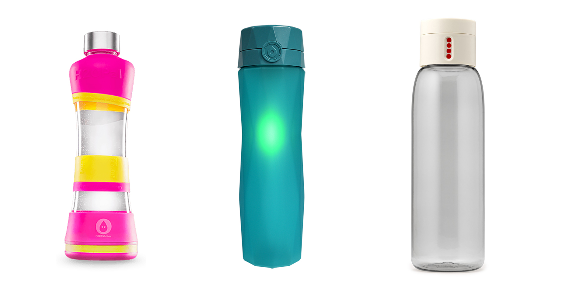 Smart bottles to track your water consumption