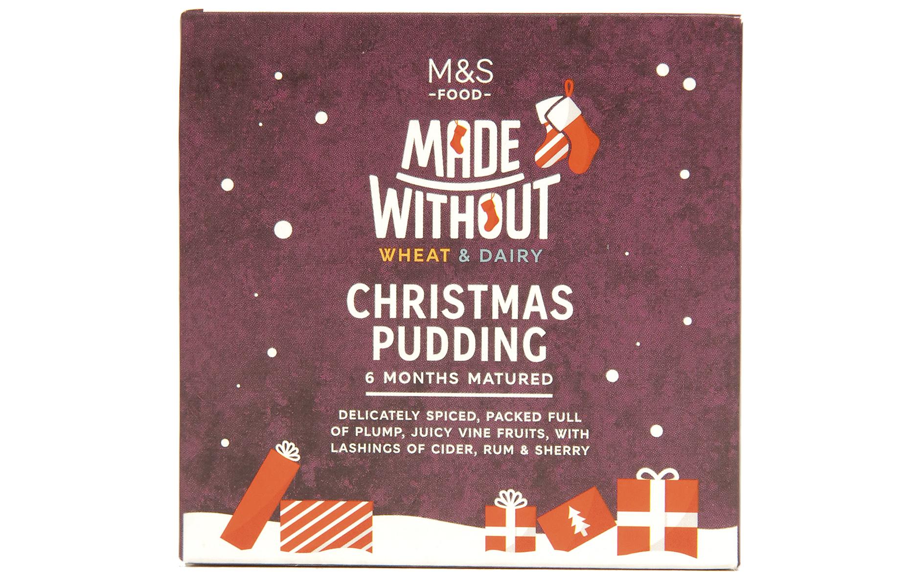 M&S vegan pudding