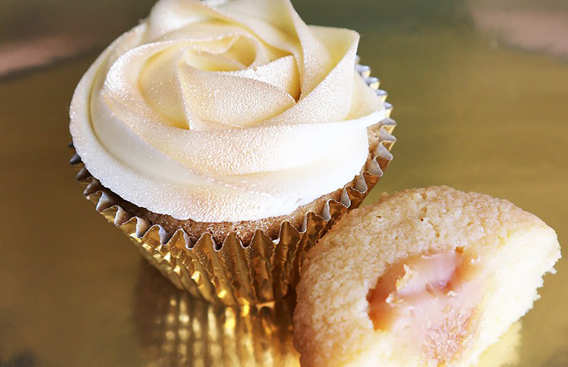 Honey and lemon cupcakes (Image: Jean-Christophe Novelli/loveFOOD)