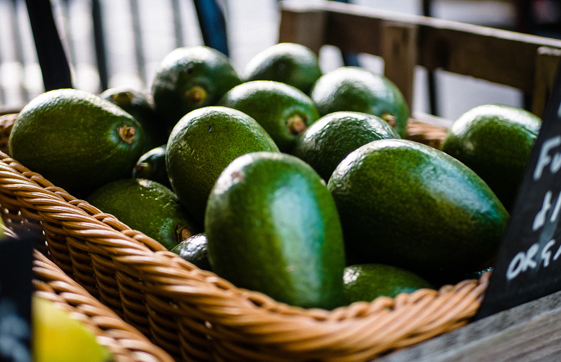 A basket of avocados (Image: RΛN SHOT FIRST/Unsplash)