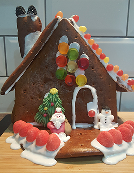 Lidl gingerbread finished