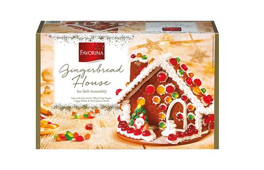 Lidl gingerbread house kit
