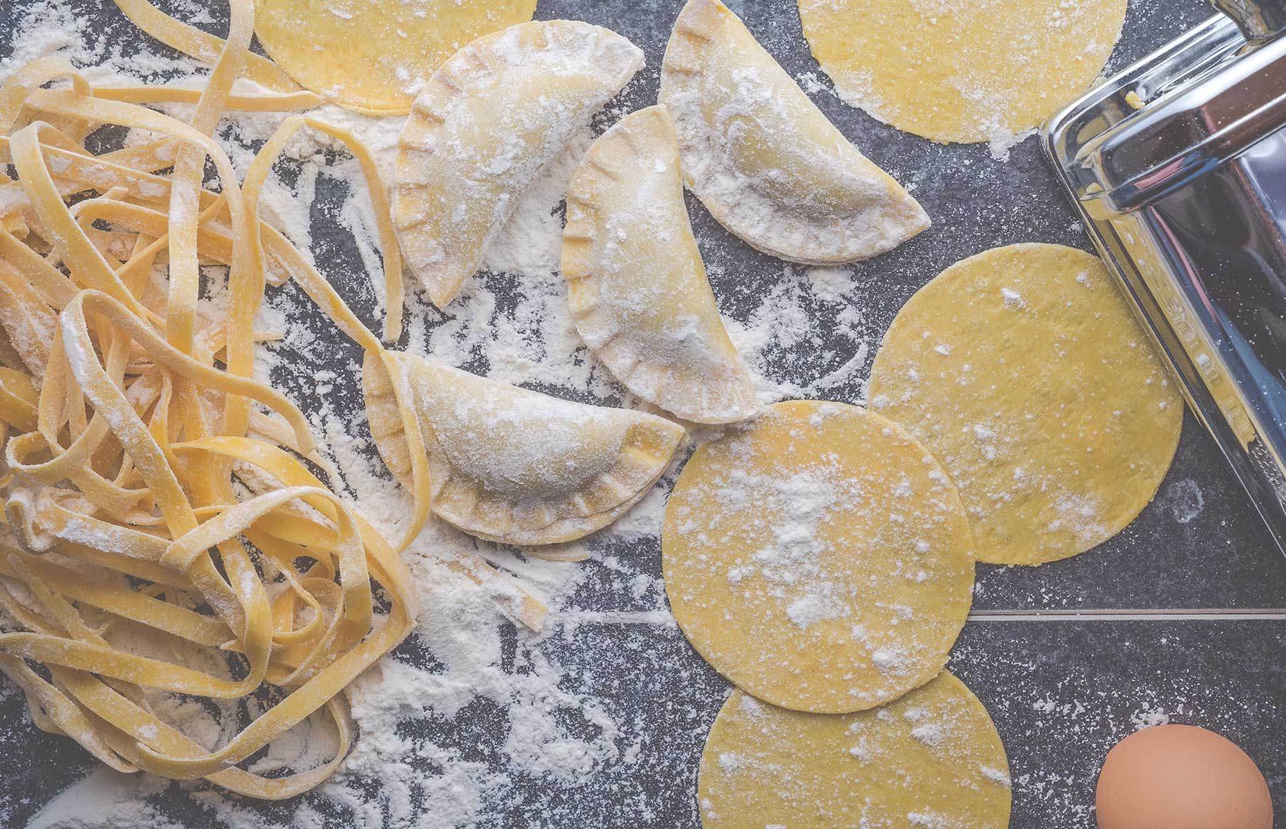 hHalf-moon pasta is among the easiest to make