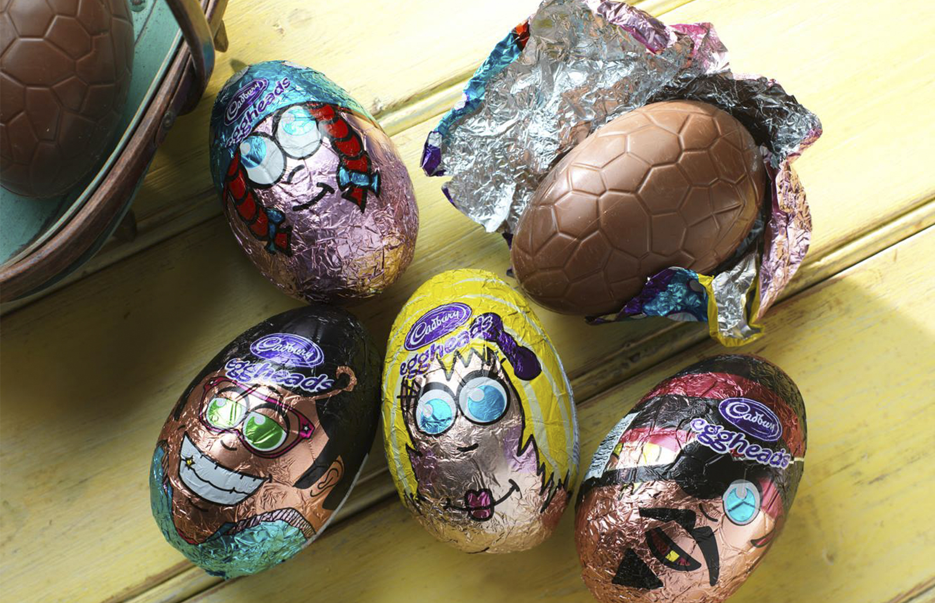 Cadbury chocolate eggs for kids (Image: CadburyUK/Facebook)