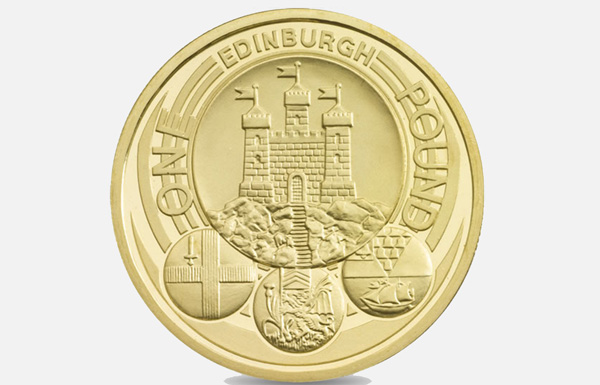 £1 Edinburgh coin 2011 (Image: Royal Mint)