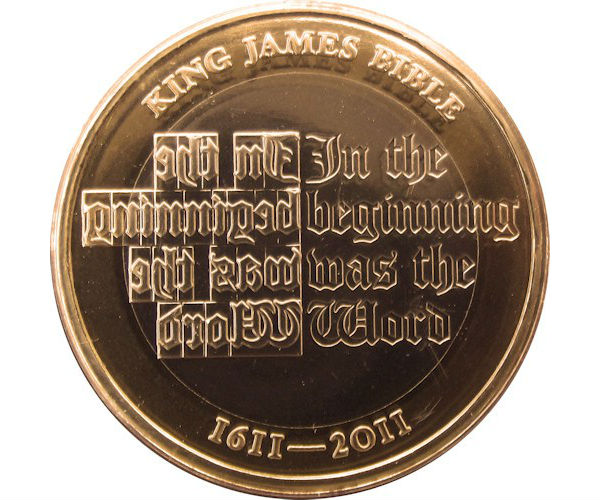 Rare 2 Coin From 2017 Commemorating The St James Image Check Your