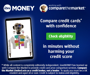 Compare credit cards (Image: Compare the Market - loveMONEY)