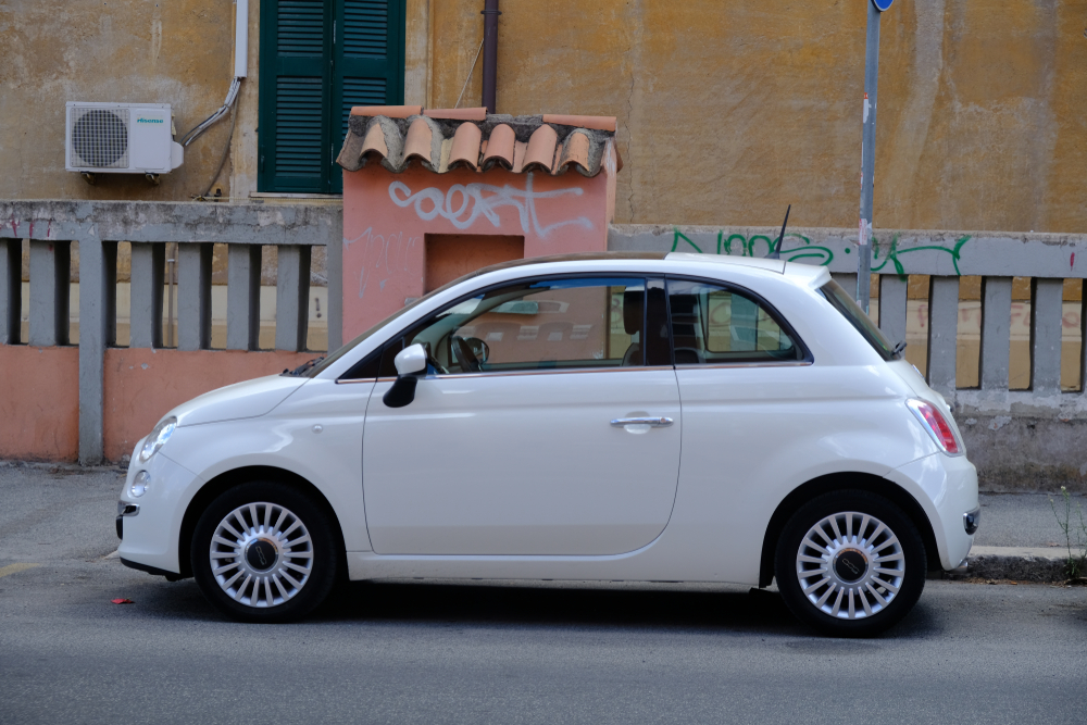 Fiat 500 has become more popular in searches (Image: Shutterstock)