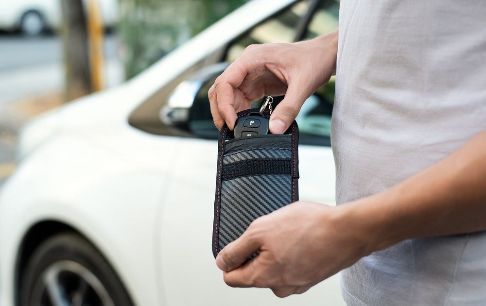 Beat the keyless car thieves: rfid pouches (Images: Shutterstock)