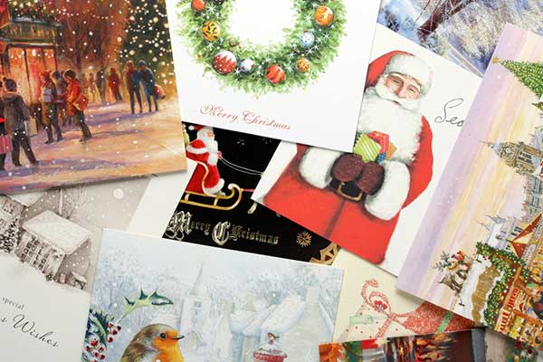 Christmas cards. (Image: Shutterstock)