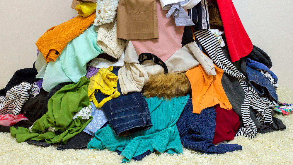 Sell your old clothes (Image: Shutterstock)