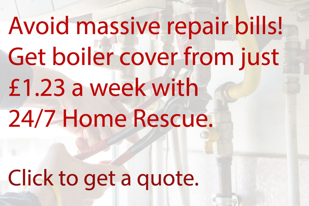 Get a quote for boiler insurance from 24/7 Home Rescue (Image: Shutterstock - loveMONEY)