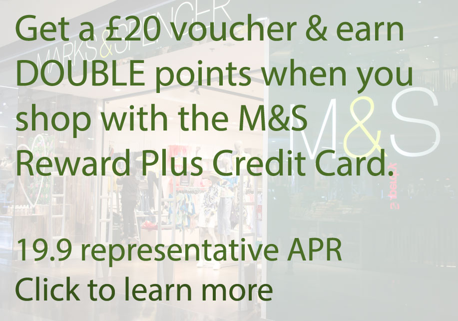 Click to learn more about the M&S Reward Credit Card (Image: Shutterstock - loveMONEY)