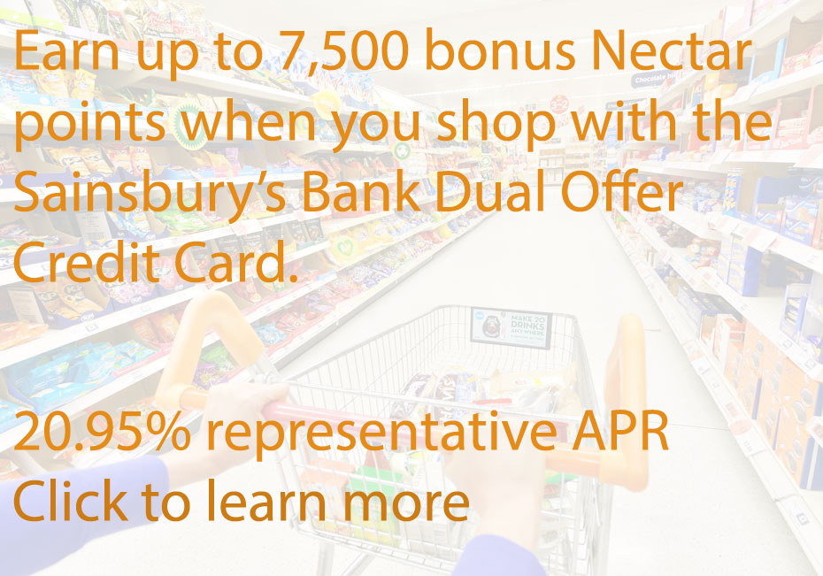 Click to learn more about the Sainsbury's Dual Credit Card (Image: Shutterstock - loveMONEY)