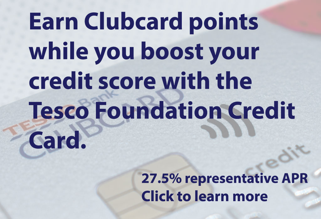 Click to learn more about the Tesco Foundation Credit Card (Image: Shutterstock - loveMONEY)